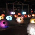 大山の和傘ライトアップ「大献灯」ってどんなイベント?